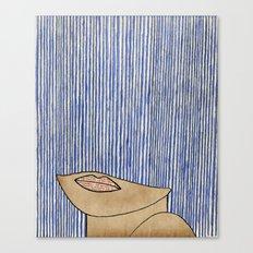 Rain Girl Canvas Print
