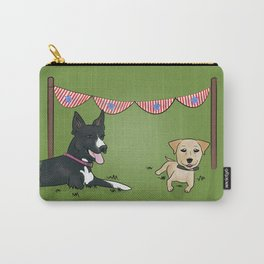 Patriotic Pups Carry-All Pouch