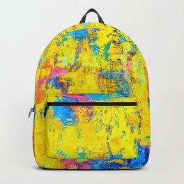 Wildthing - abstraktes Ölgemälde Backpack