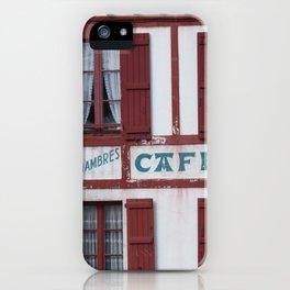 Basque Café iPhone Case