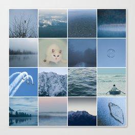 Blue Heaven Canvas Print