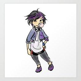 Gogo Tomago Art Print