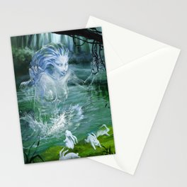 River Ghost Stationery Cards