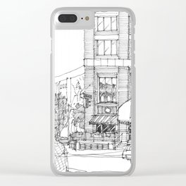 corner ba[K]ery dallas Clear iPhone Case