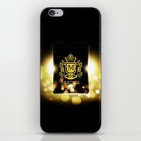 logo iPhone & iPod Skins featuring Logo by Azeez Olayinka Gloriousclick