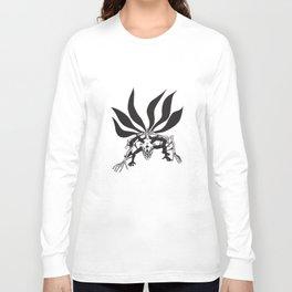 Naruto Shippuden Kyuubi Six Tails Anime Naruto T-Shirts Long Sleeve T-shirt