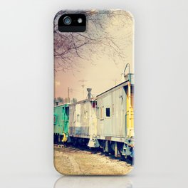 Colorful Train iPhone Case