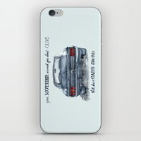 mustang iPhone & iPod Skins featuring Mustang by dareba