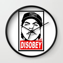 Disobey Cube Wall Clock