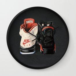 Jordan 6 Real Hip-hop sneakers Wall Clock