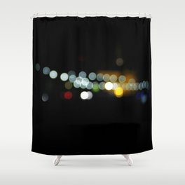 Pittsburgh Mt. Washington in Bokeh Shower Curtain