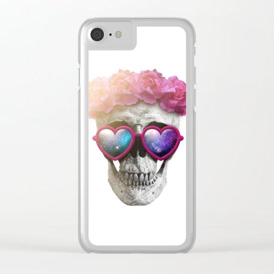 "Mortem in Gloria ""Yazz"" Clear iPhone Case"