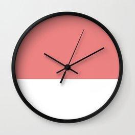 Salmon top Wall Clock