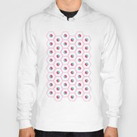 hexagon Hoodies featuring Hexagon Pattern by C Designz