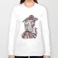 samurai Long Sleeve T-shirts featuring Samurai  by Geek World