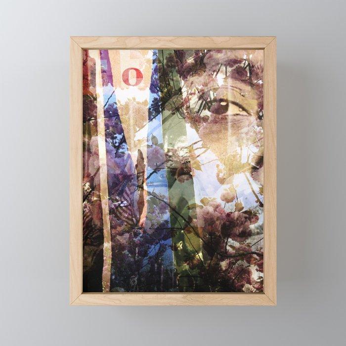 Fort Greene and West 4th Framed Mini Art Print
