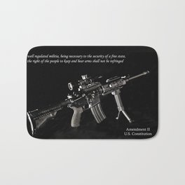2nd Amendment Bath Mat