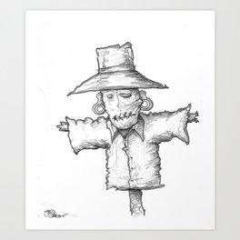 Scarecrow Recon #1 Art Print