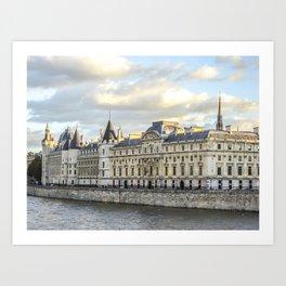 Conciergerie in Paris Art Print