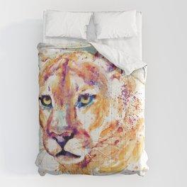 Cougar Head Comforters