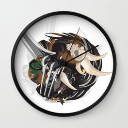 Leopold Rolling Wall Clock