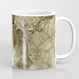 Haute école – Gold Coffee Mug