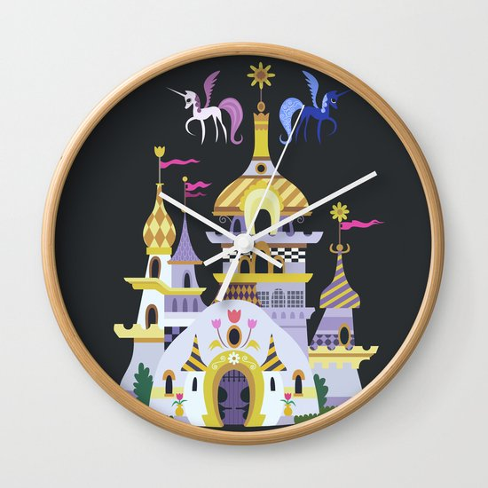 Canterlot Wall Clock