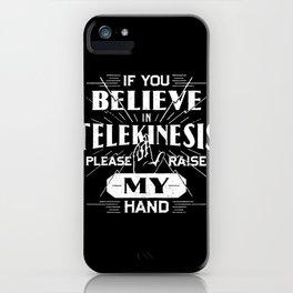 Telekinesis Homecoming iPhone Case
