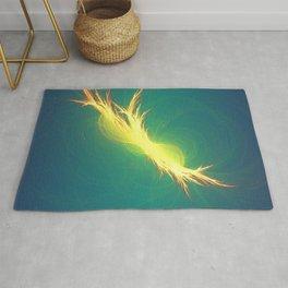 Fractal Phoenix Rising Rug