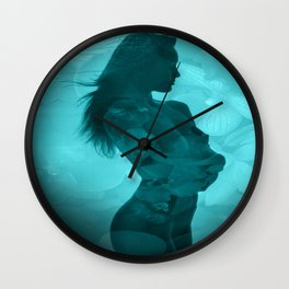 Sweet Days End Wall Clock