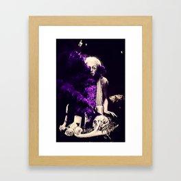 Vampire Flower (Edit 2) Framed Art Print