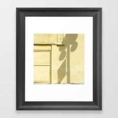 #SHADOW PLAY - HOLLYWOOD FLORIDA USA  Framed Art Print