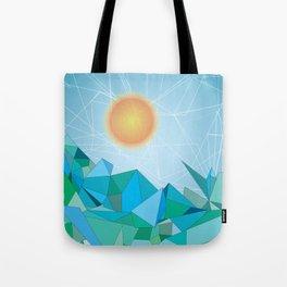 Landscape - geomertic work Tote Bag