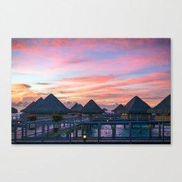 Bora Bora #society6 #decor #buyart Canvas Print