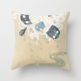 Out of All Them Bright Stars II Throw Pillow