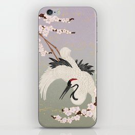 Japanese Crane iPhone Skin