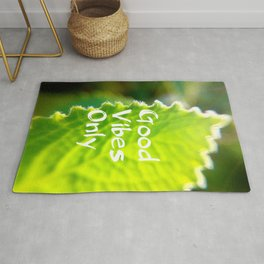Mexicant Mint - Good Vibes Only Rug