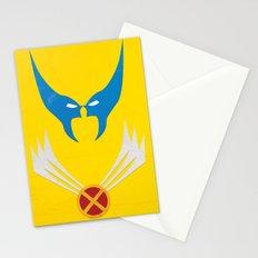 Minimal Wolverine Stationery Cards