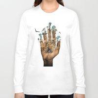stargate Long Sleeve T-shirts featuring Stargate by Sandra Dieckmann