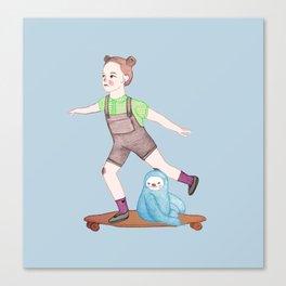 Skater Canvas Print