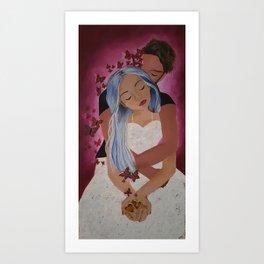 close to my heart Art Print