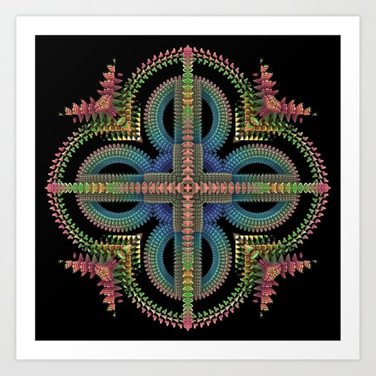 Omni-Abstract Art Print