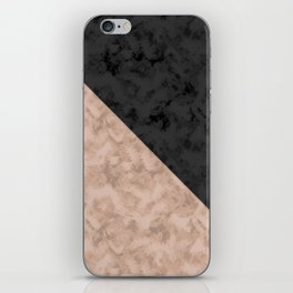 Brown , gray , mixed , patchwork iPhone Skin