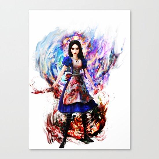Alice madness returns Canvas Print