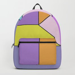 Abstract Geometrc Mill Backpack