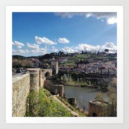 Toledo , Spain Art Print