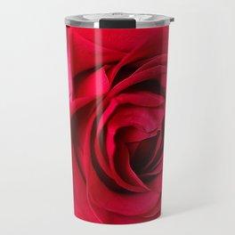 Red Rose Close-up #decor #society6 #buyart Travel Mug