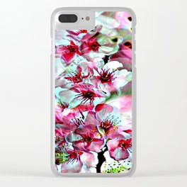 Cabsink17DesignerPatternFLG Clear iPhone Case