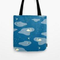 mythology Tote Bags featuring Mythology by ravynka