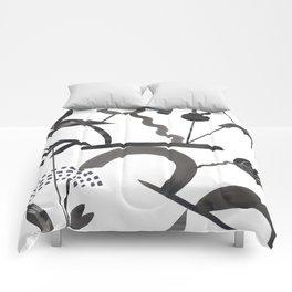 Abstract Botanica - 1 Comforters